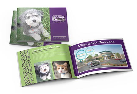 Image of the Animal Foundation brochure